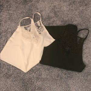 2 For $20 Hollister Tank Tops